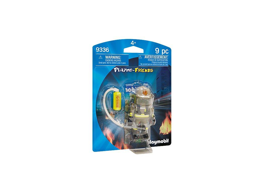 Playmobil 9336 Hasič s plynovou maskou