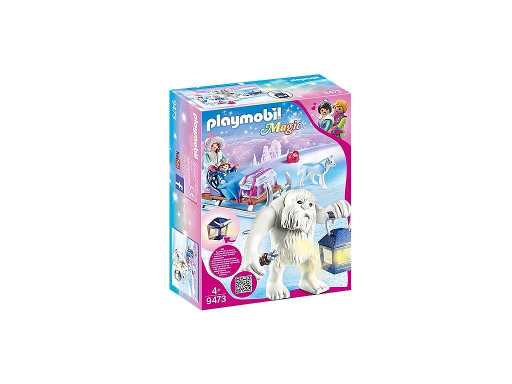 Playmobil 9473 Sněžný troll a sáně