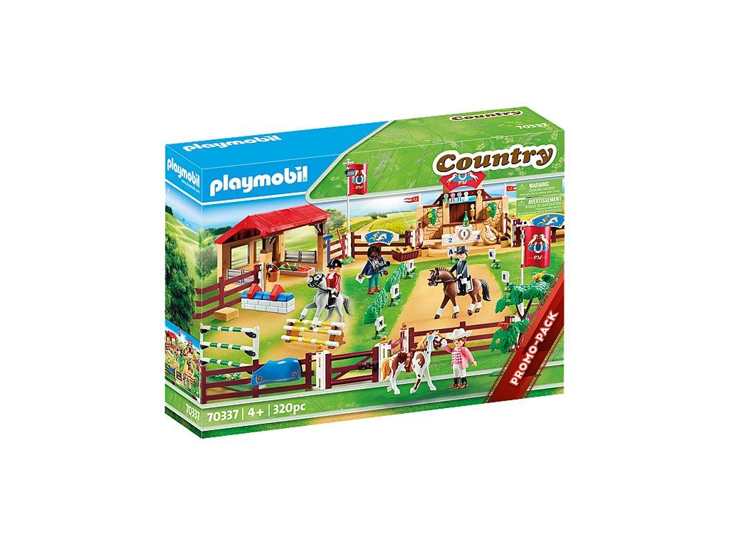 Playmobil 70337 VELKÁ JEZDECKÁ SOUTĚŽ