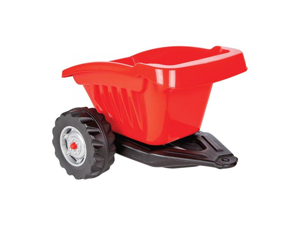 JAMARA 460270 přívěs Ride-on červený pro Traktor Ride-on