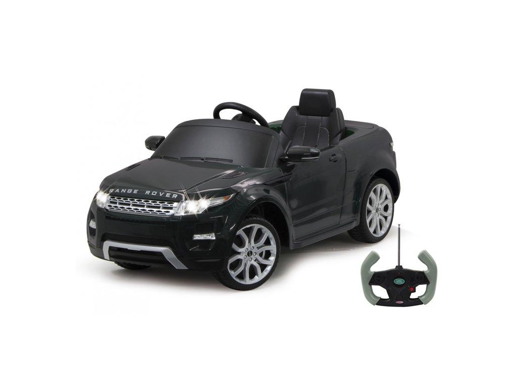 Jamara Ride on Land Rover Evoque černá 27MHz 6V
