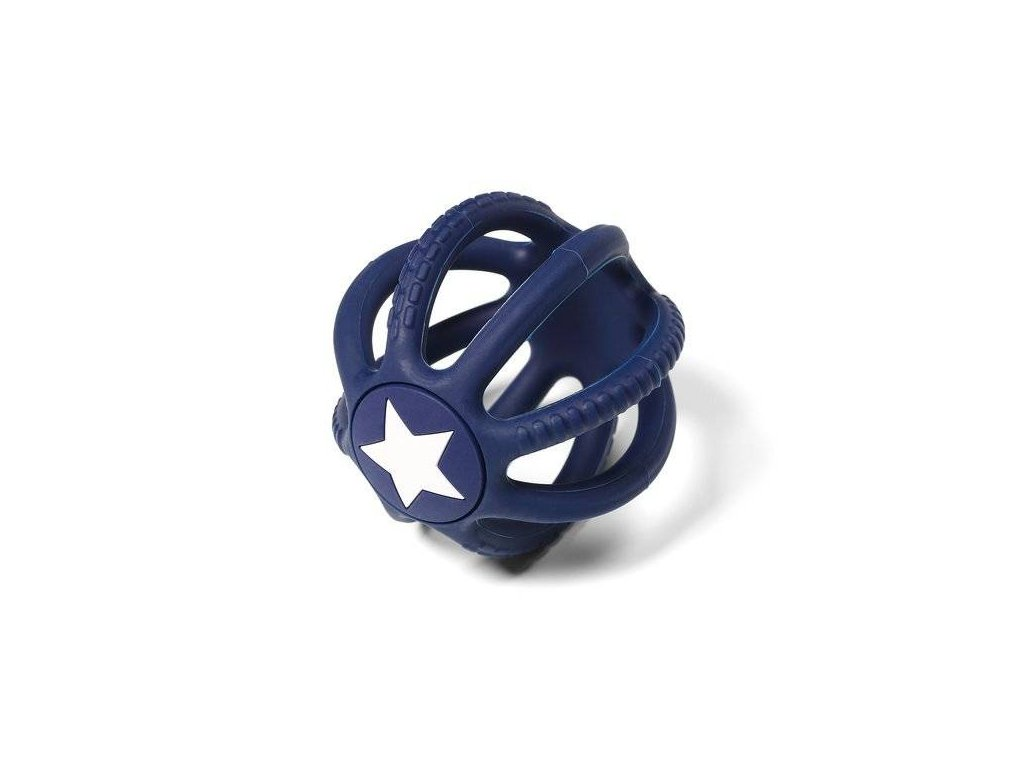 BabyOno silikon kousátko Ortho Star Blue