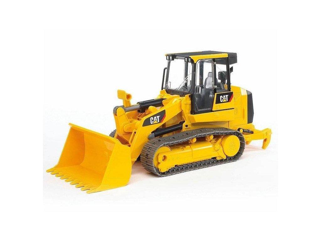 BRUDER 02447 nakladač Caterpillar pásový