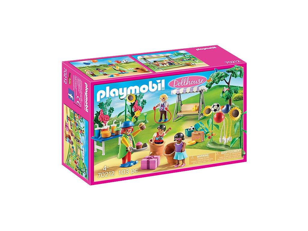 Playmobil 70212 Dětské narozeniny s klaunem