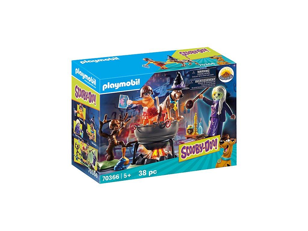 Playmobil 70366 SCOOBY-DOO! Dobrodružství v čarodějnickém kotli