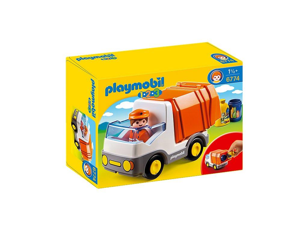 Playmobil 6774 POPELÁŘSKÉ AUTO