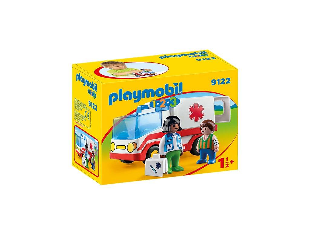 Playmobil 9122 Sanitka s posádkou