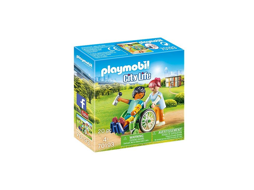 Playmobil 70193 Pacient na vozíku