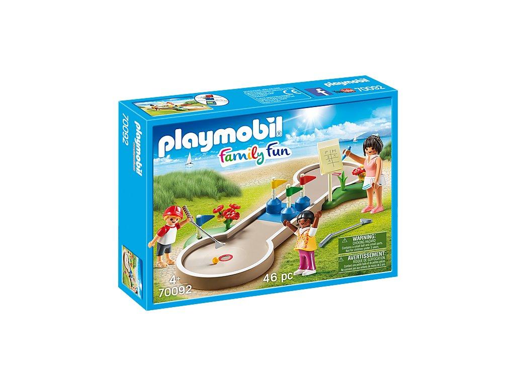Playmobil 70092 Minigolf u moře