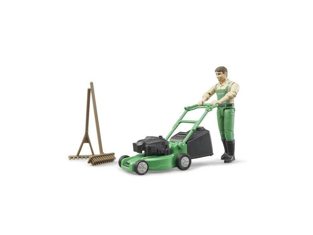 Bruder 62103 Zahradník sekačka a příslušenství