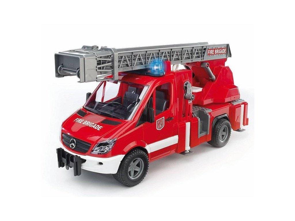 BRUDER 02532 Mercedes Sprinter požární se žebříkem