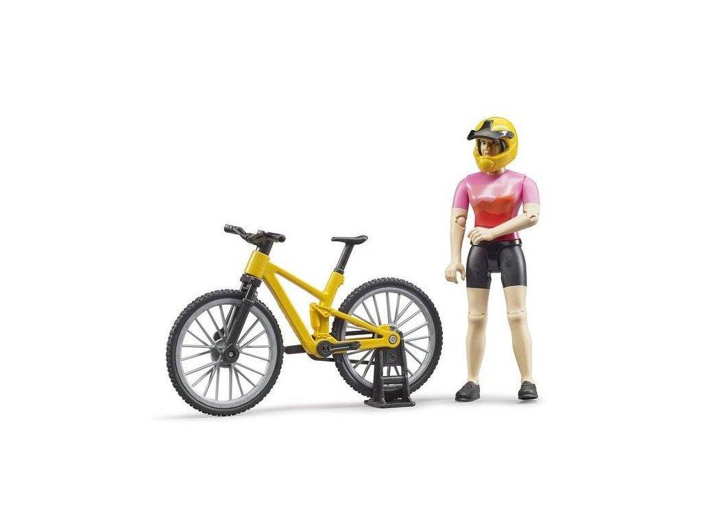 Bruder 63111 Cyklistka na horském kole