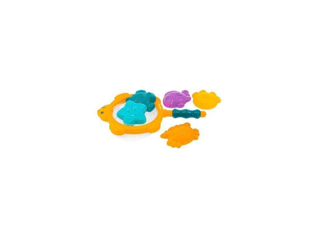 Akuku Hračky do vody sítko s hračkami