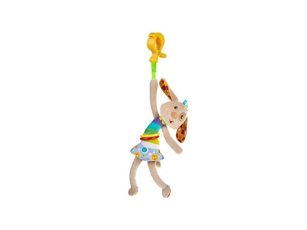 Akuku Plyšová závěsná hračka vibrující pejsek
