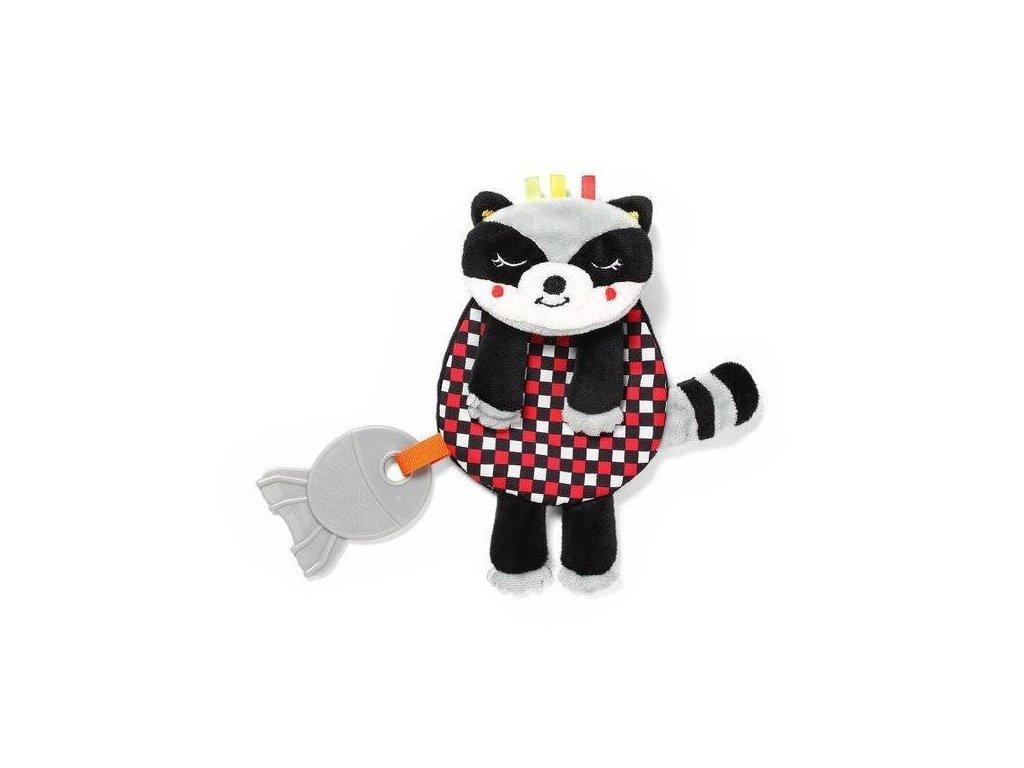 BabyOno šustící mazlíček Flat Racoon Felix C More