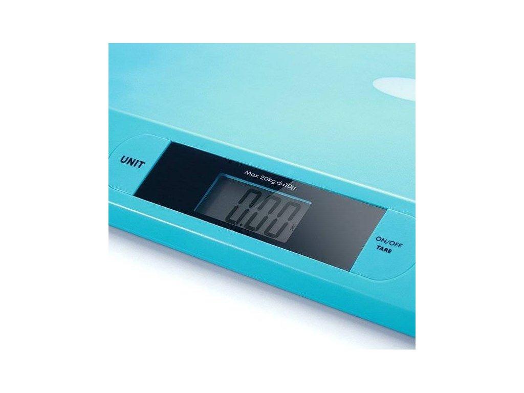 BabyOno elektronická pro děti do 20kg tyrkysová