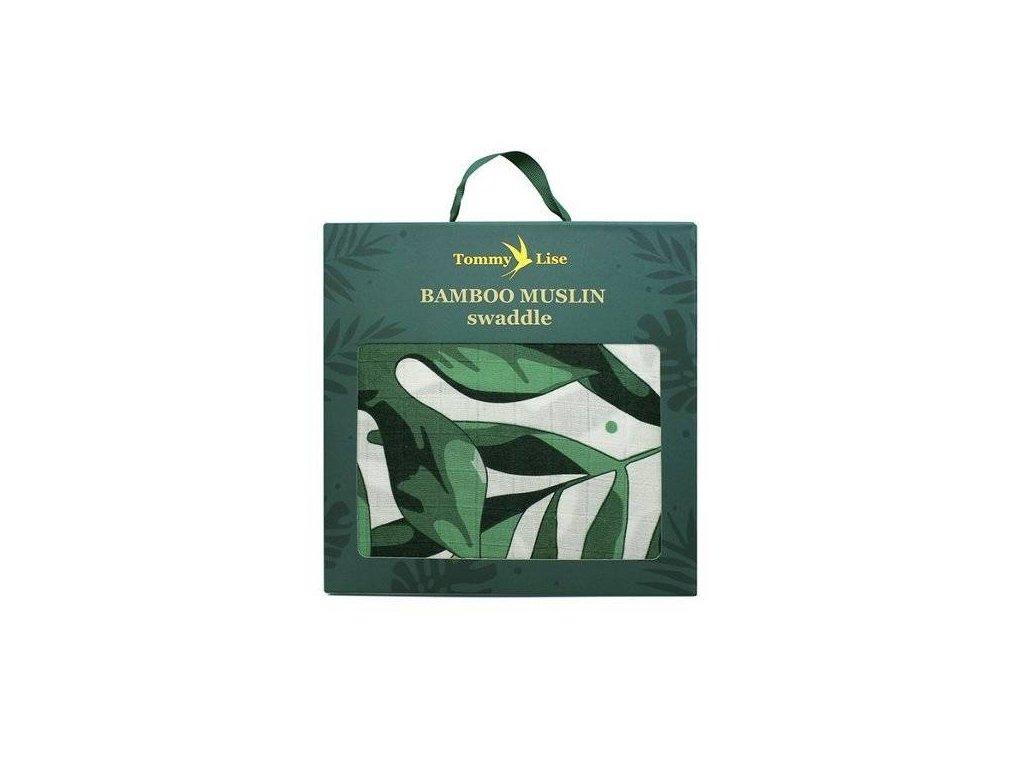 Tommy Lise 701301 Roaming Mangrove Bambusová mušelínová plena