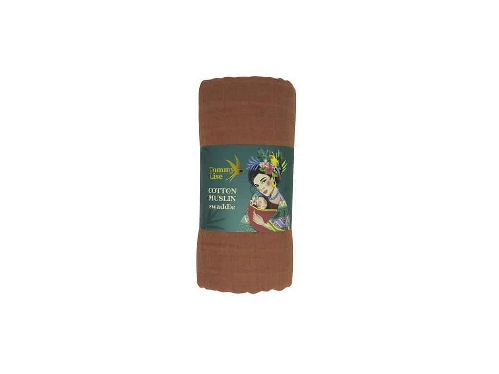Tommy Lise 701310 Glazed Ginger Bavlněná mušelínová plena