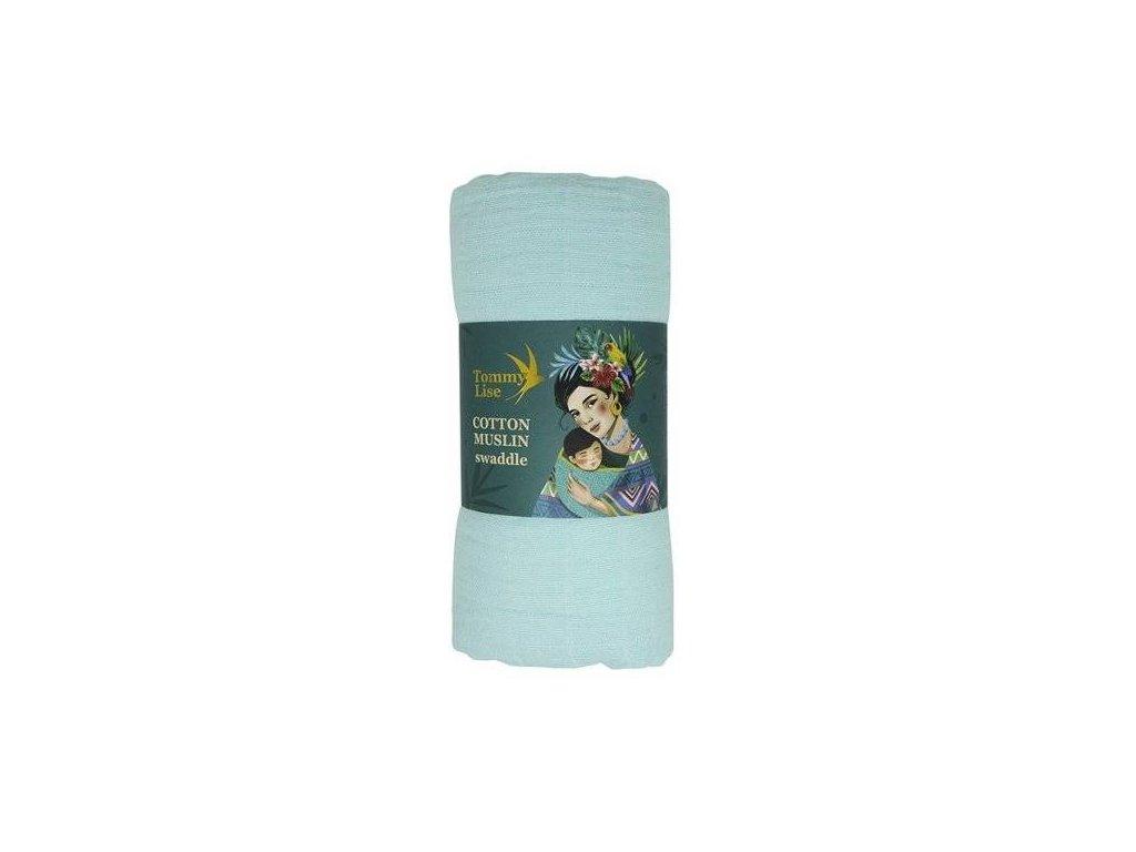 Tommy Lise 701312 Dreamy Blue Bavlněná mušelínová plena