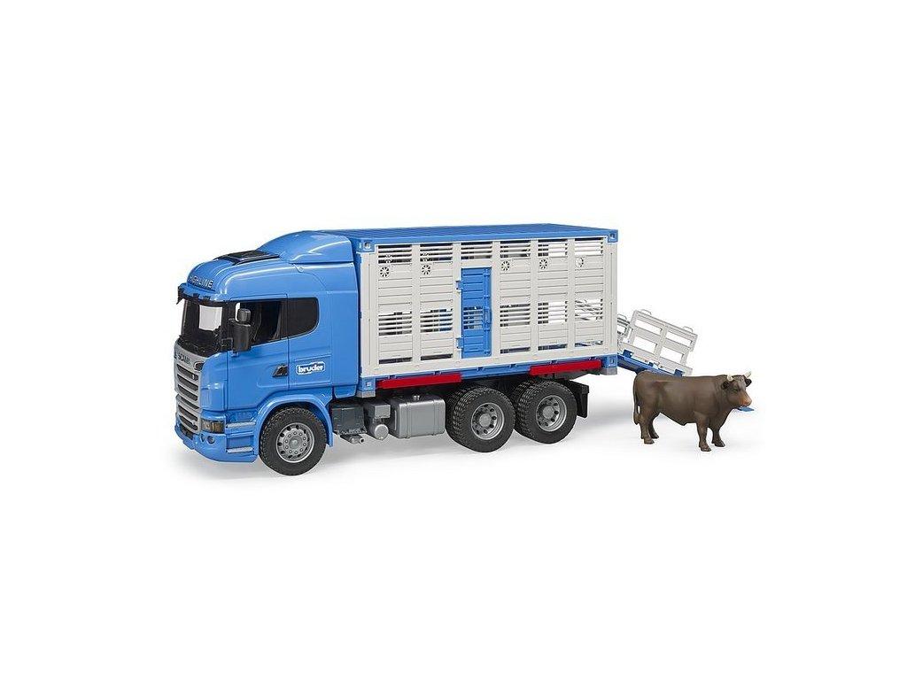 pol pl Bruder 03549 Scania kontener do przewozu zwierzat 494 4