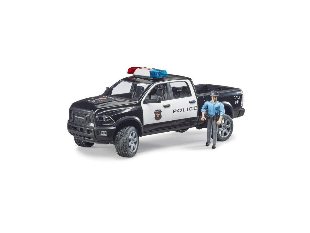 pol pl Bruder 02505 policja Dodge Policyjny policjant 1807 2