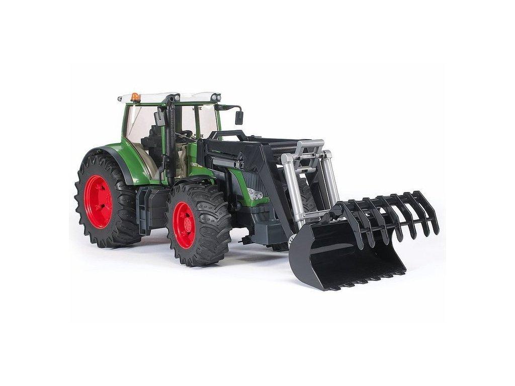 pol pl Bruder 03041 Traktor Fendt z ladowaczem 306 3