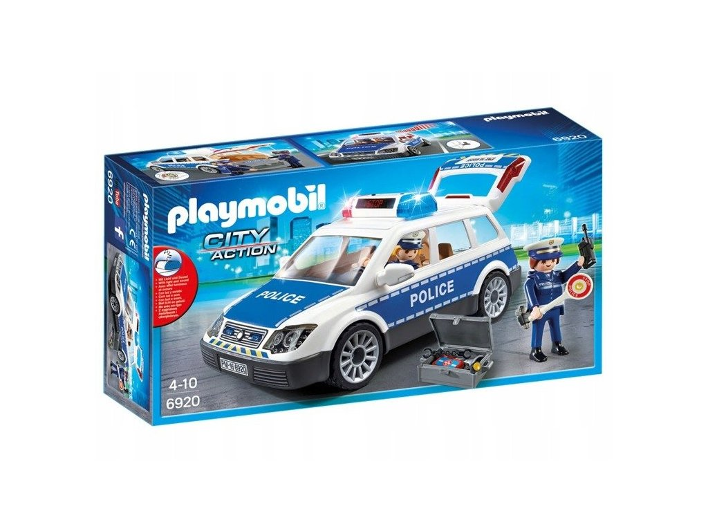 pol pl Playmobil 6920 radiowoz policyjny POLICJA 1162 6