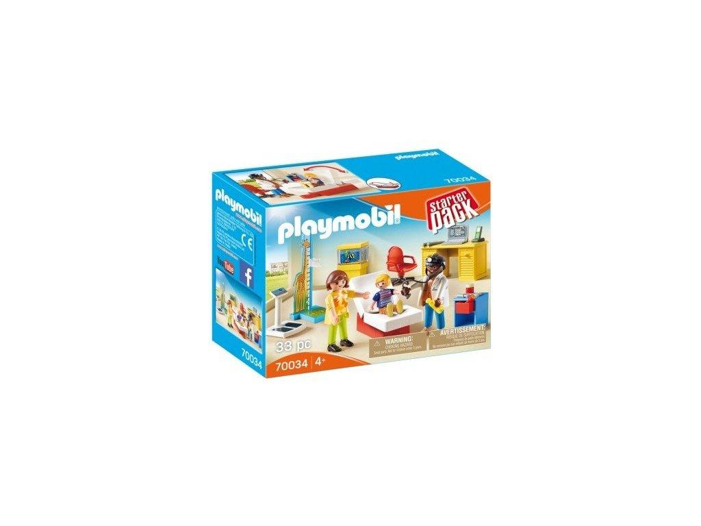 pol pl Playmobil 70034 StarterPack Lekarz dzieciecy 2034 1