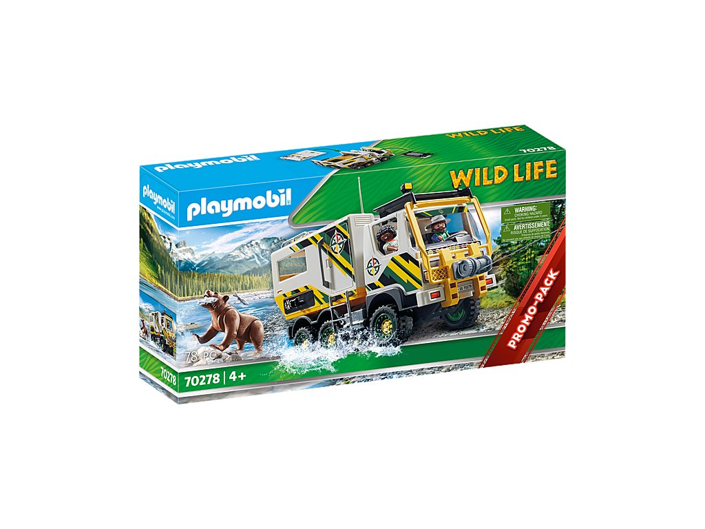 pol pl PLAYMOBIL 70278 Outdoor Expedition Truck 2868 5