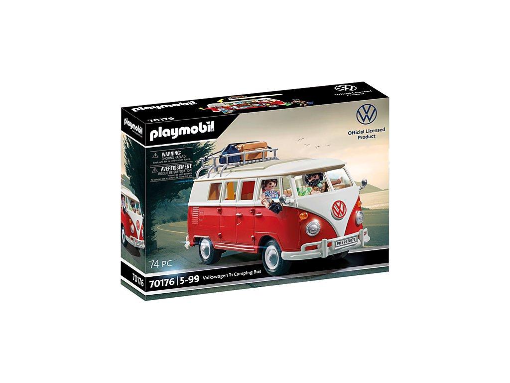 pol pl PLAYMOBIL 70176 Volkswagen T1 Camping Bus 2866 6