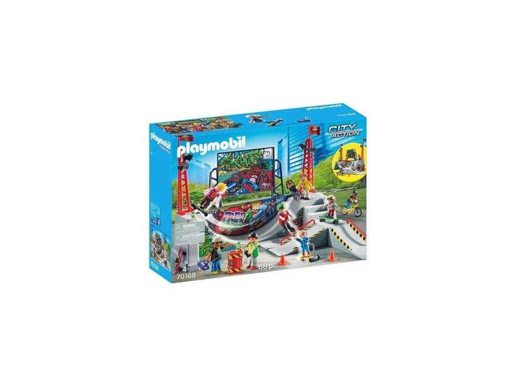 pol pl Playmobil 70168 Skatepark z rampa 2859 4