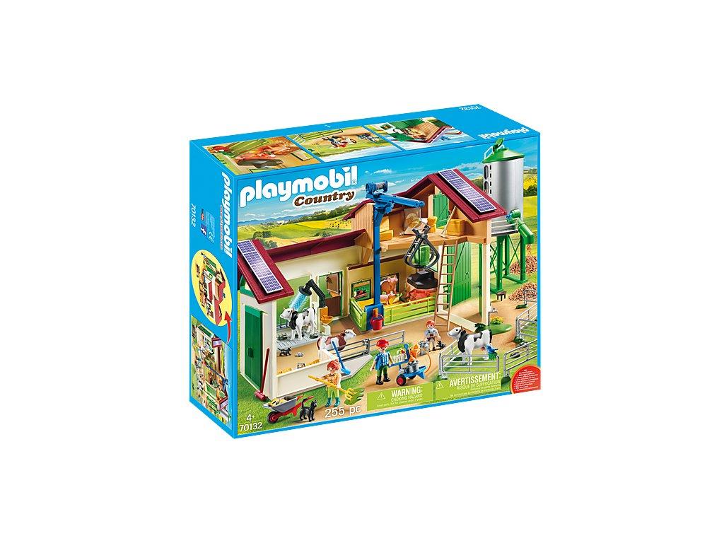 pol pl Playmobil 70132 Duze gospodarstwo rolne z silosem 2857 6