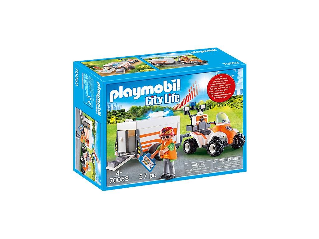 pol pl Playmobil 70053 Quad ratowniczy z przyczepa 2855 4