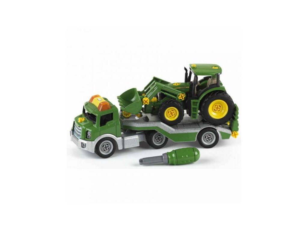 pol pl Klein 3908 Traktor John Deere do skrecania laweta 2932 3