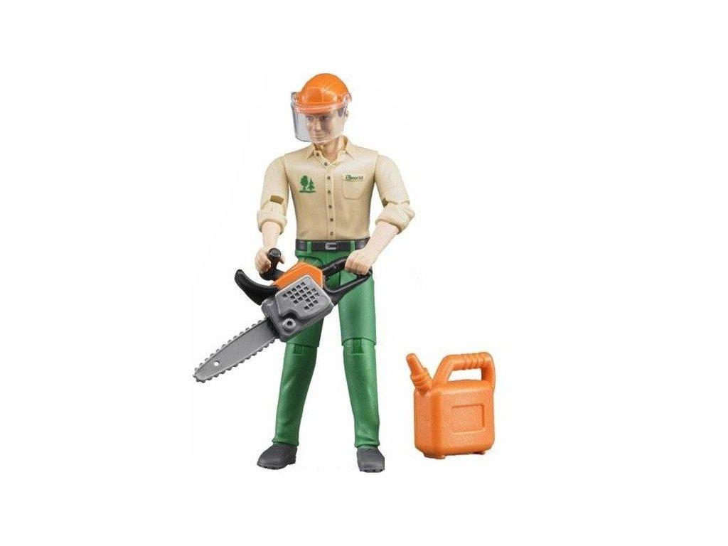 Bruder 60030 Bworld lesní dělník