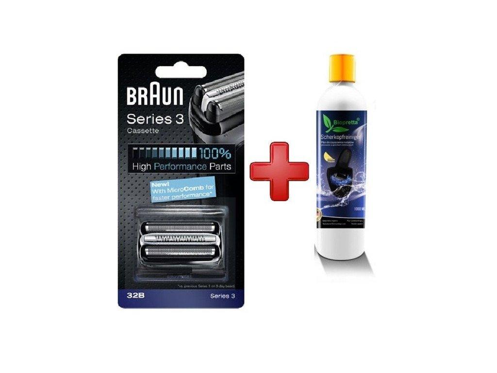 Braun 32b + Biopretta CCR 1l