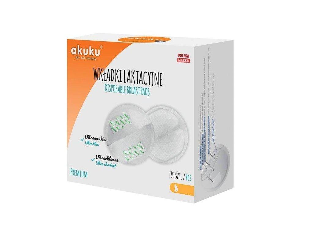 AKUKU A0354 Laktační ultrasavé prsní vložky 30 ks