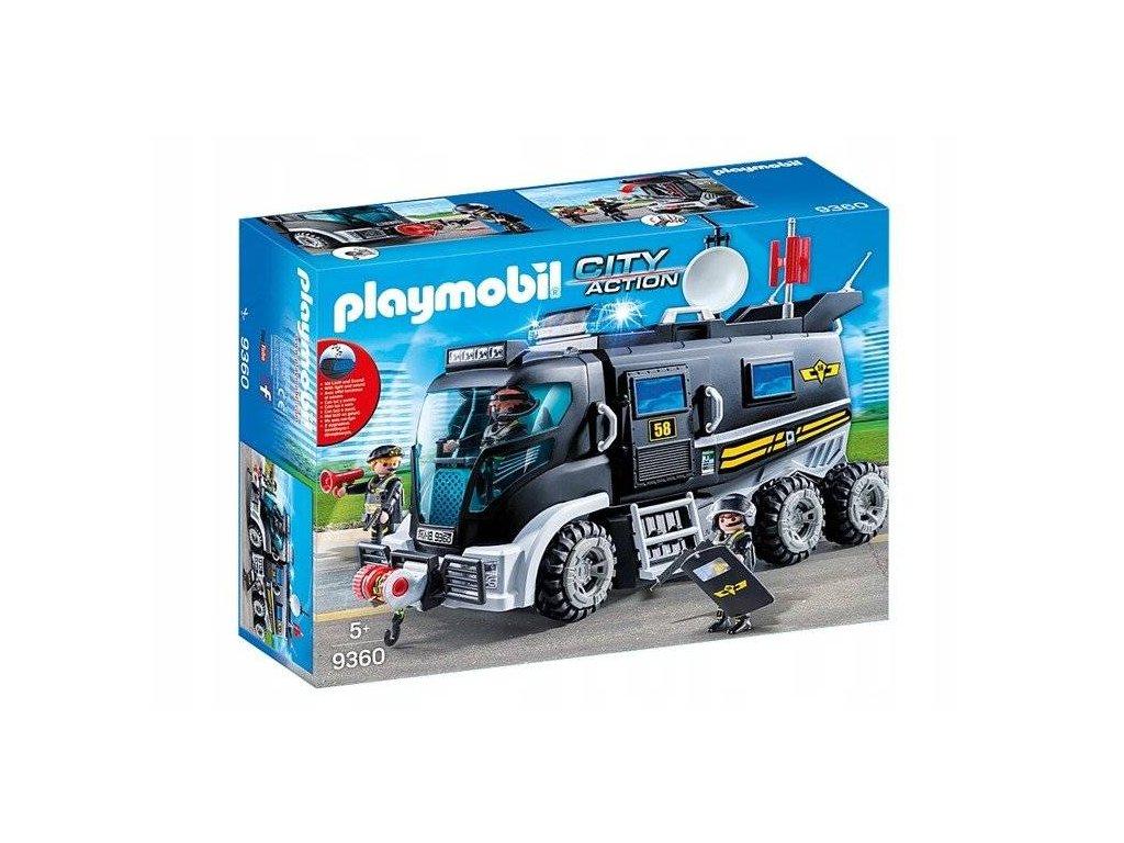 Playmobil 9360 Speciální policejní zásahové vozidlo