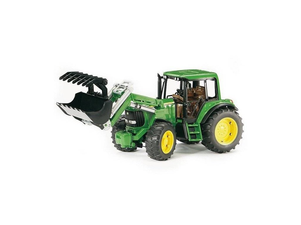 BRUDER 02052 Traktor John Deere 6920 s přední lžící