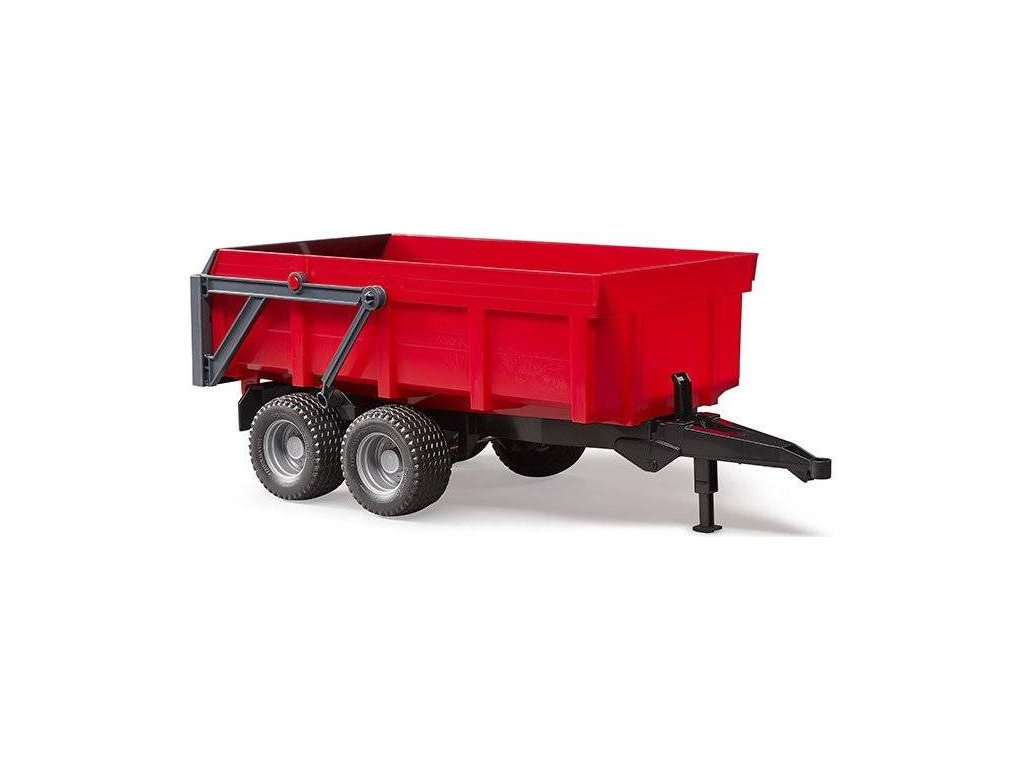 Bruder 2211 Valník s automatickou zadní stěnou červená