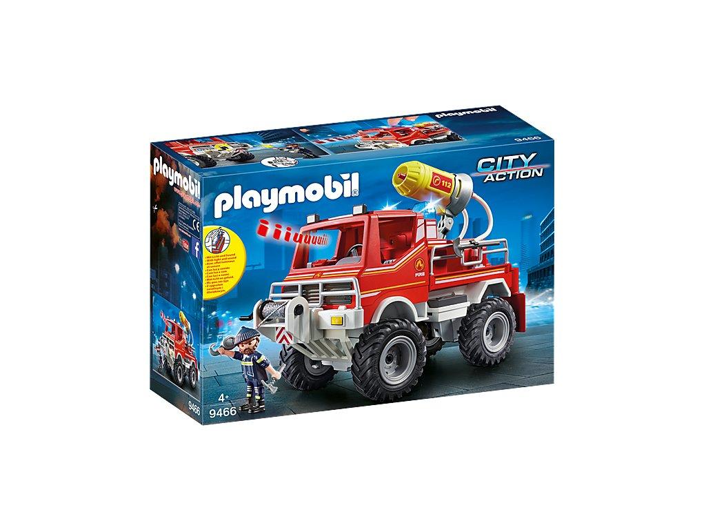 Playmobil 9466 Hasičský vůz s pěnovým dělěm