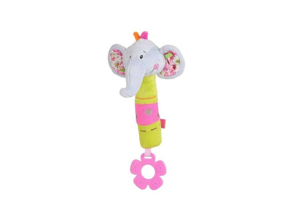 BabyOno Plyšová pískací slon