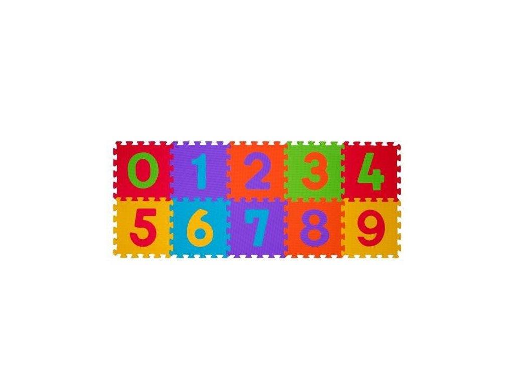 BabyOno puzzle číslice 10 ks
