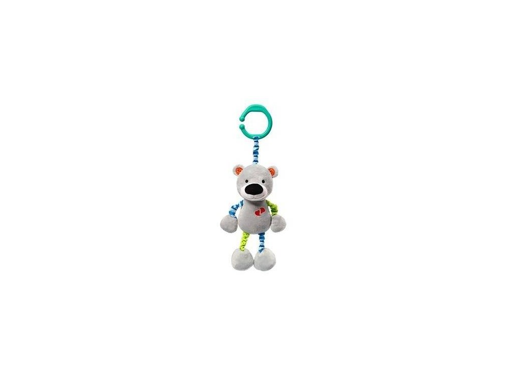 BabyOno Natahovací plyšová hračka vibrující Medvídek