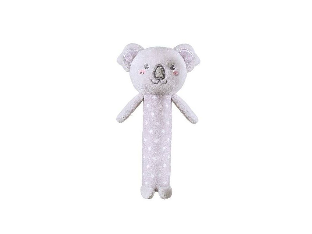 BabyOno Plyšová pískací hračka Koala Jules 17 cm