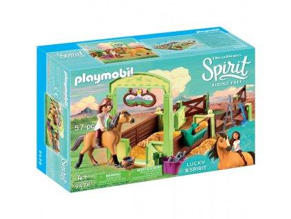 Playmobil 9478 KOŇSKÝ BOX LUCKY & SPIRIT