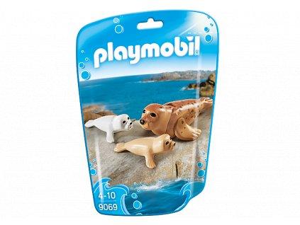 Playmobil 9069 tuleň s mláďaty