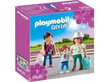 PLAYMOBIL City Life 9405 Dívky na nákupu