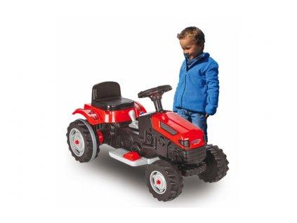 JAMARA 460262 Elektrický traktor 6V Ride-on Strong Bull 6V červený