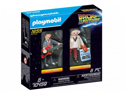 Playmobil 70459 MARTY MCFLY A DR. EMMETT BROWN